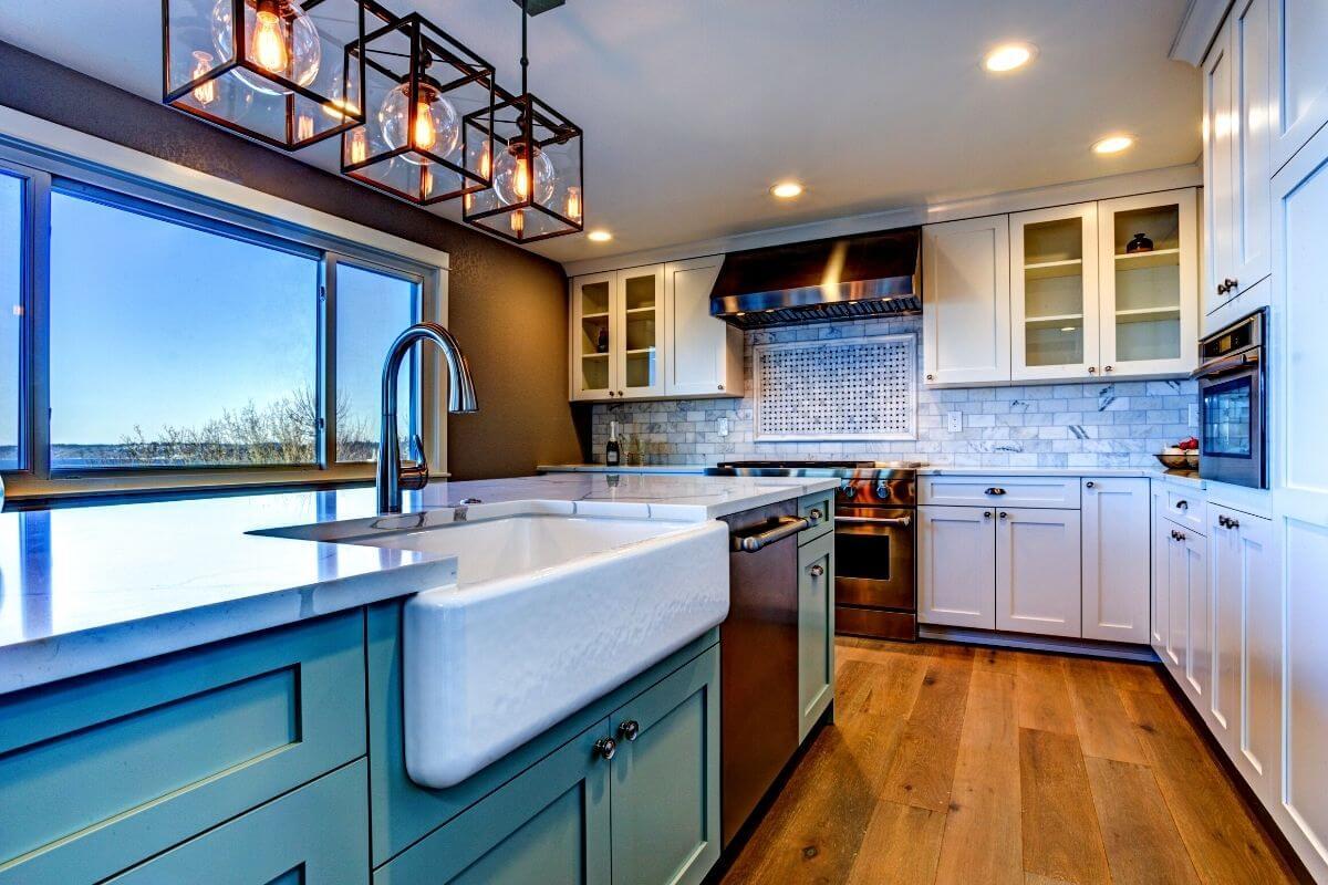 2bhk house kitchen design