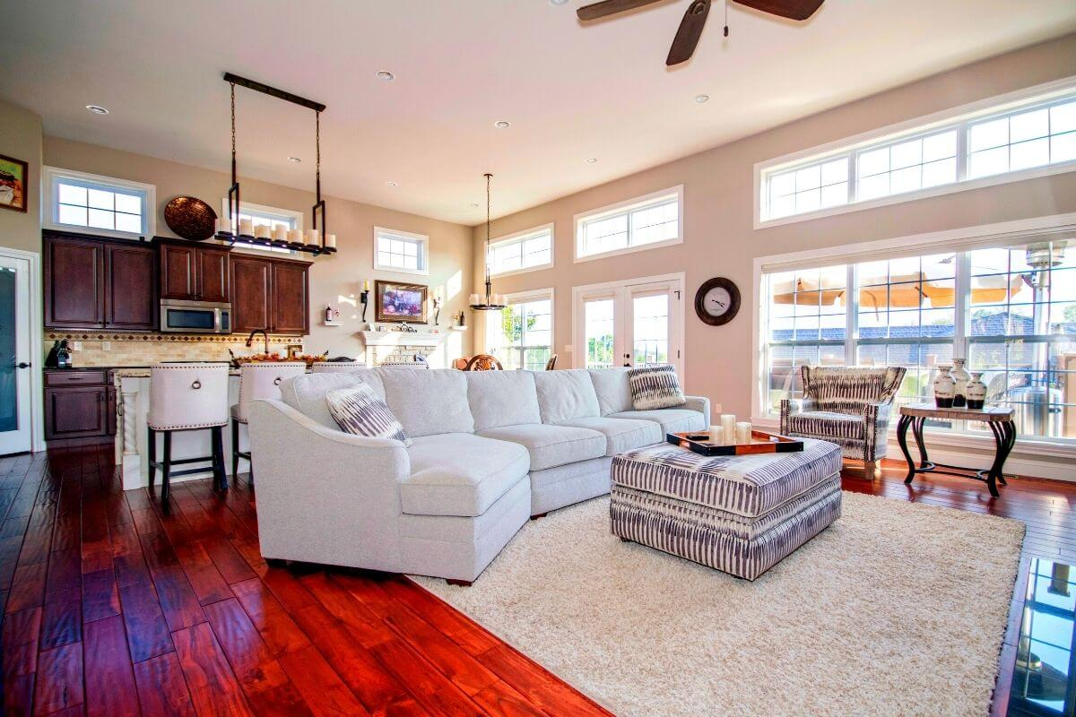 2bhk house living room design