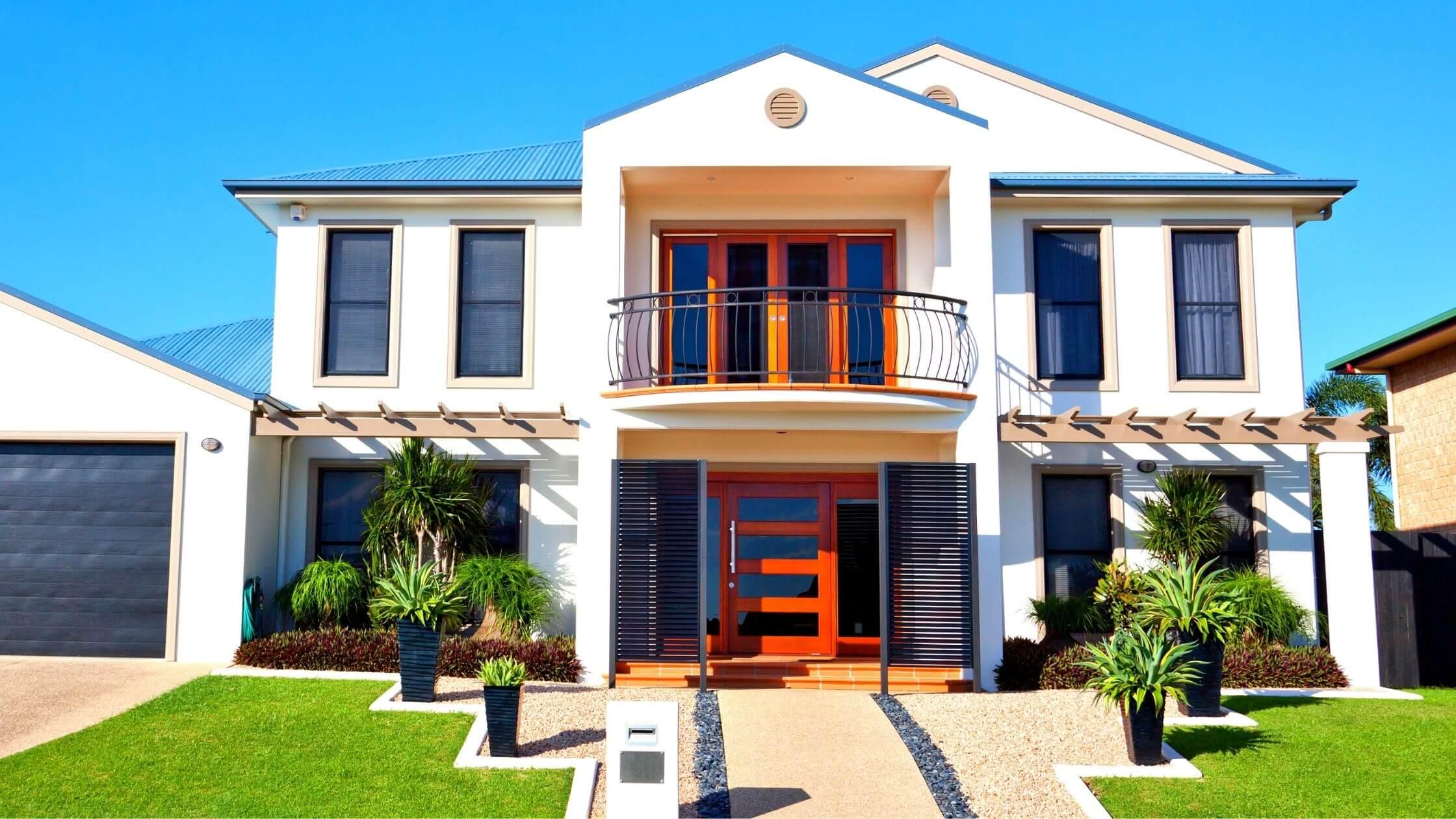 Home Design Front   Front Exterior Design Images