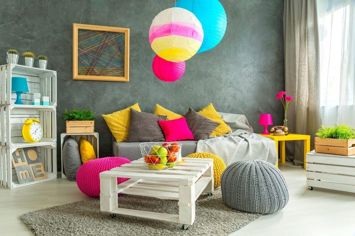 Single Floor House Kidsroom Design