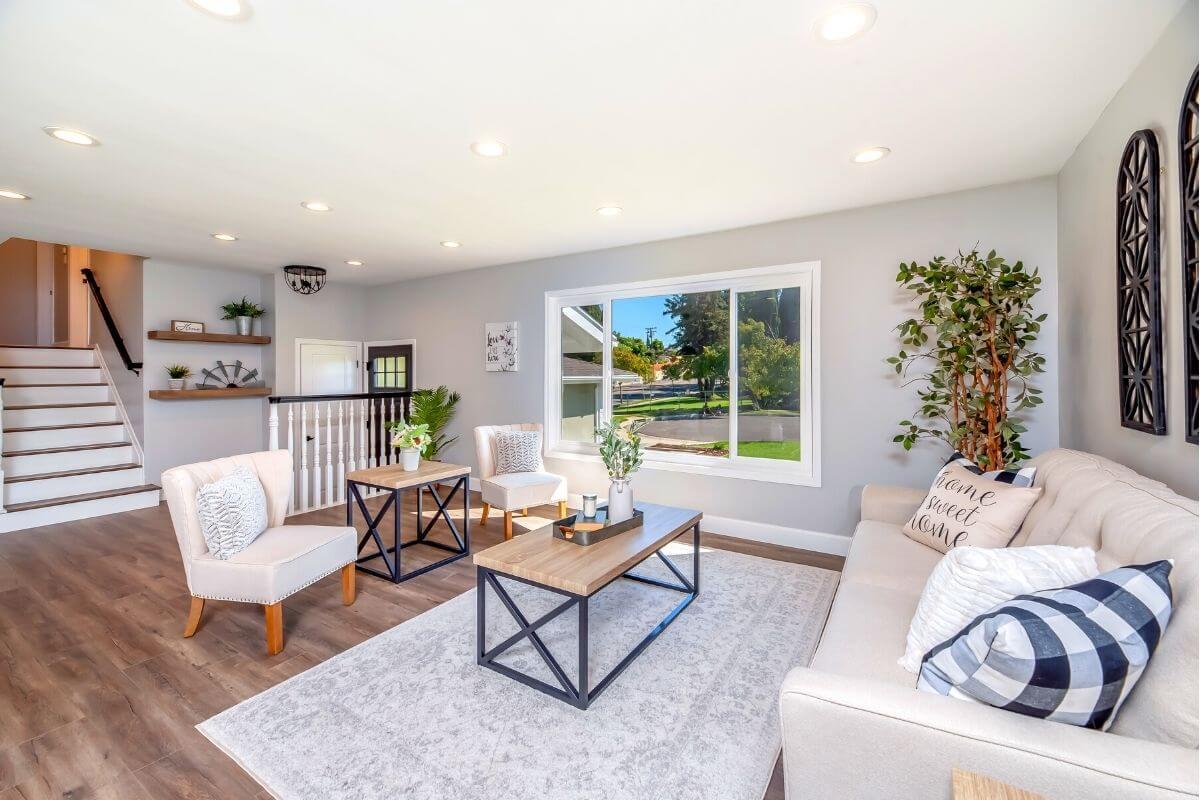 Single Floor House interior design