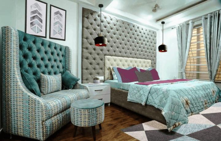 bedroom design by Aarti Mehta Designs (Livproo)