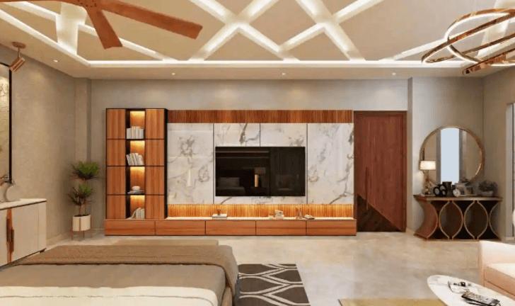 bedroom design by Kalakriti Interiors & Vastu Consultants