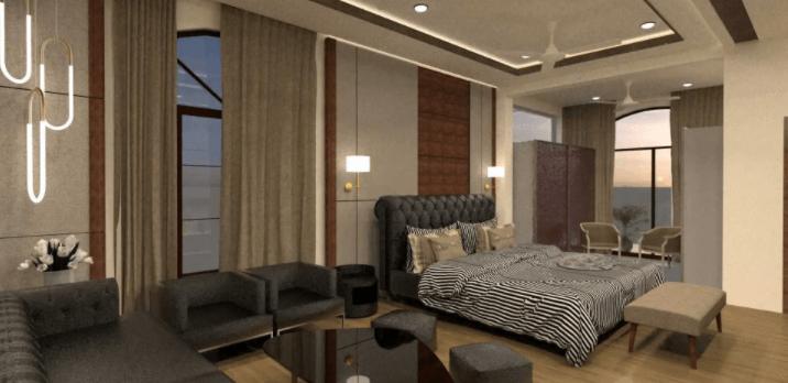 bedroom design by Waymour Design Studio