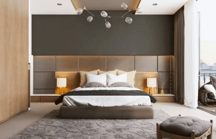 bedroom interior design by Extreme Designs N Interior Solutions