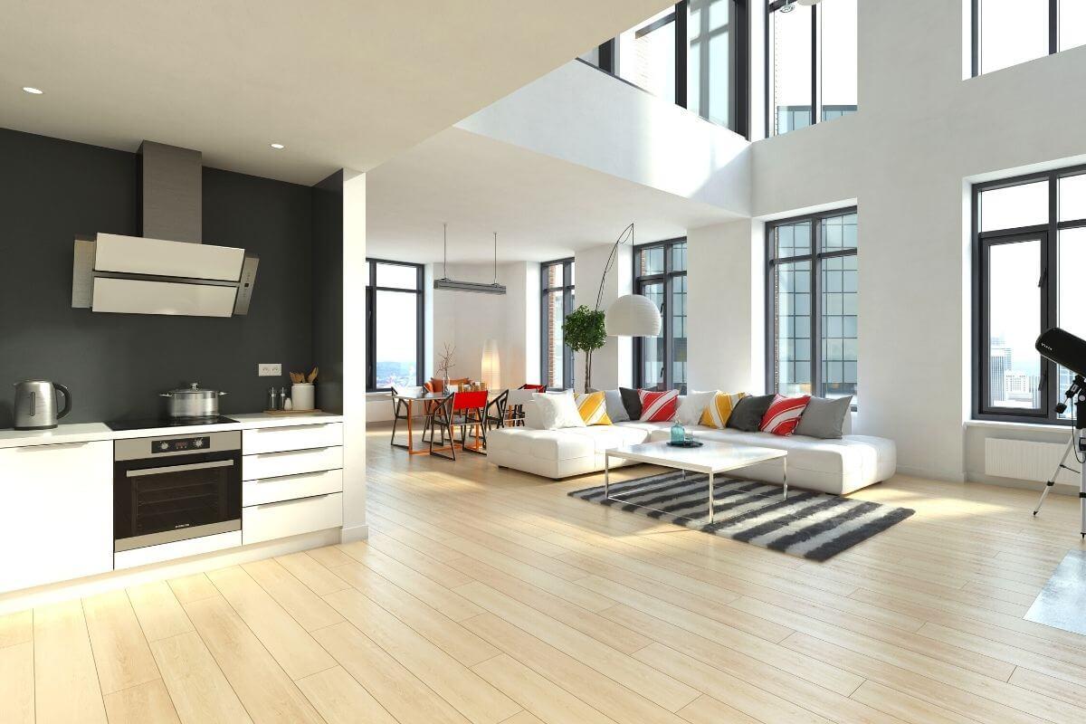 kitchen design for Single Floor House