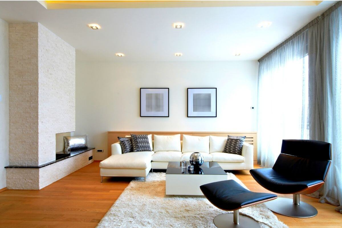 living room for single room
