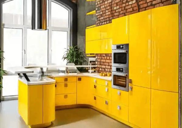 modular kitchen design by NCR Home Interior