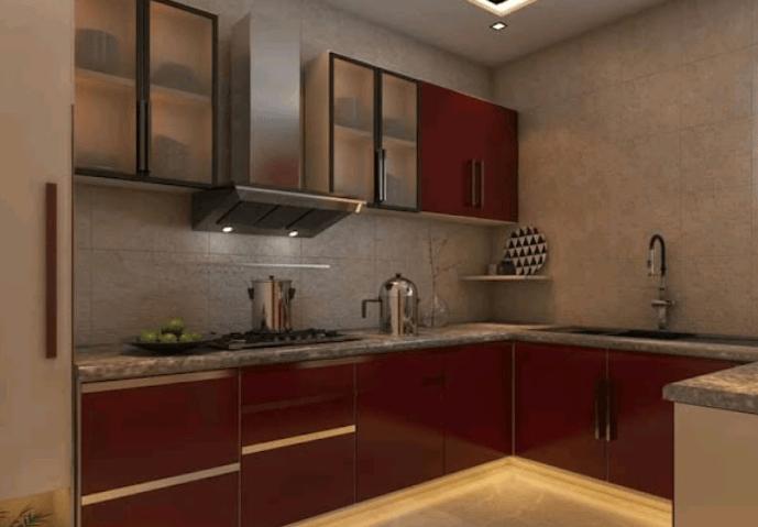 modular kitchen design by ZIRCON INTERIORS