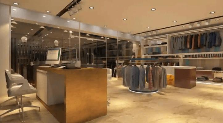 showroom design in delhi by Interior Squad