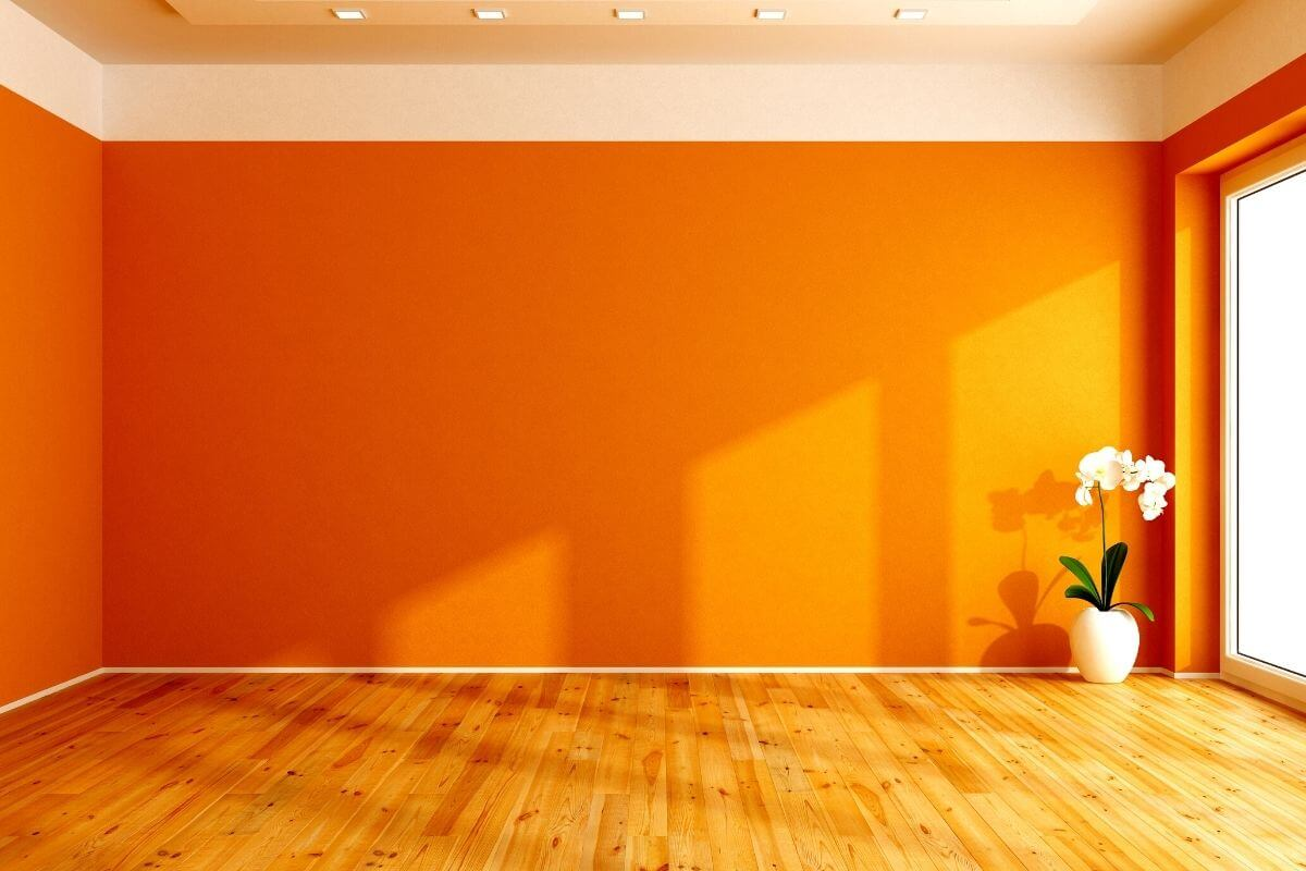 single room color yellow