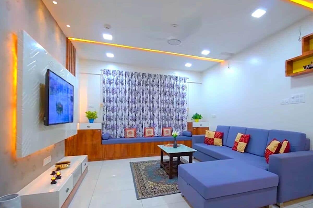 3 Bedroom House living room design
