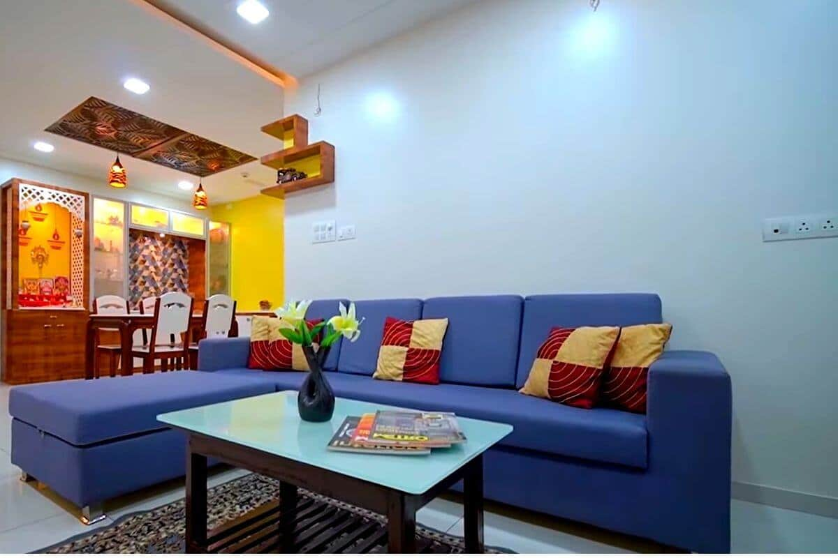 3 Bedroom House sofa design