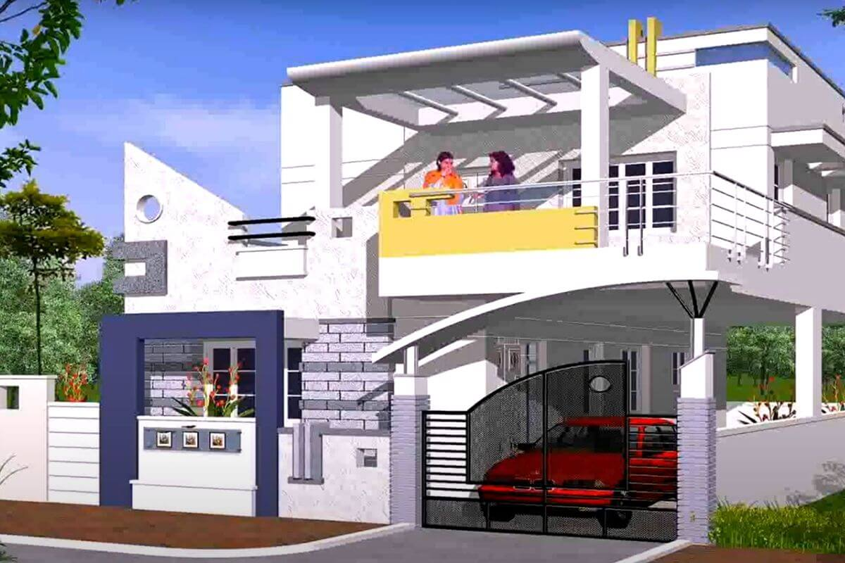 indian house front elevation designs photos hd