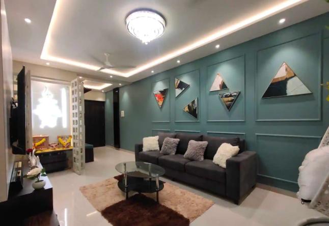living room design by Lavish Interior Designers