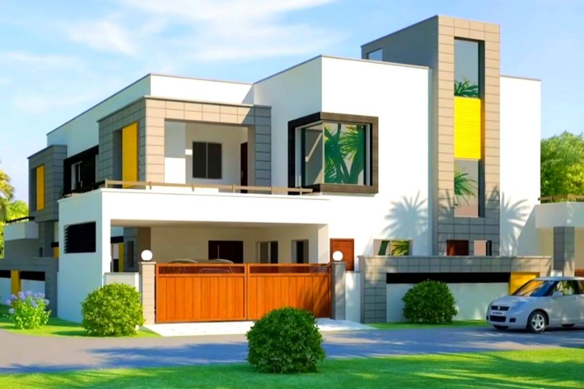 normal house front elevation designs for your dream house