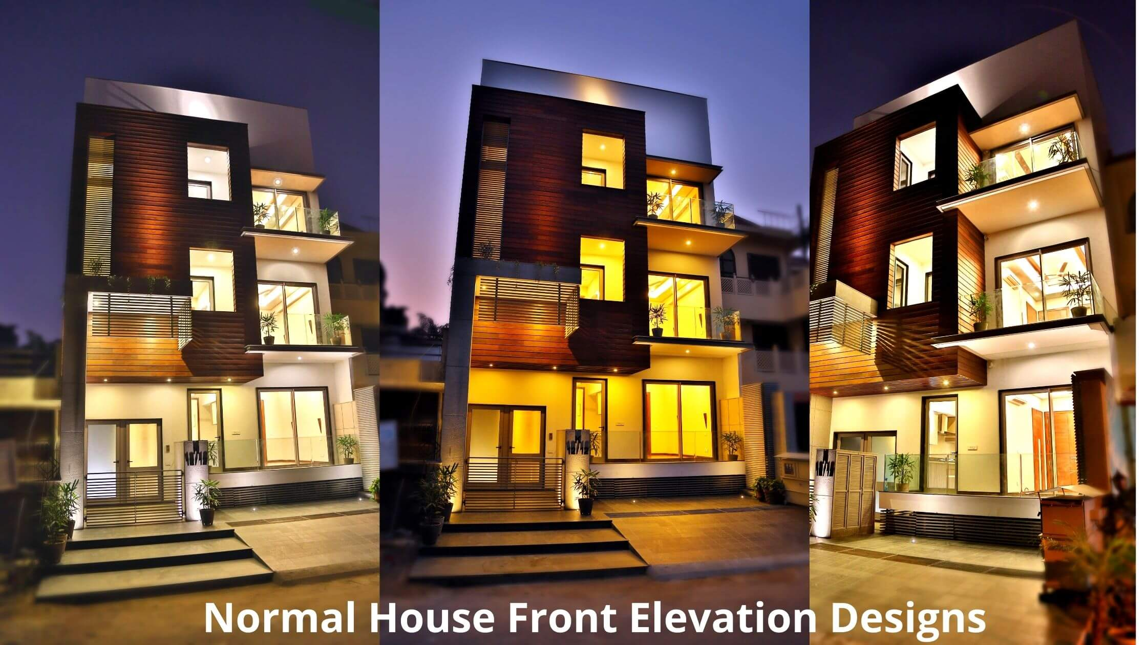 Normal House Front Elevation Designs in Budget