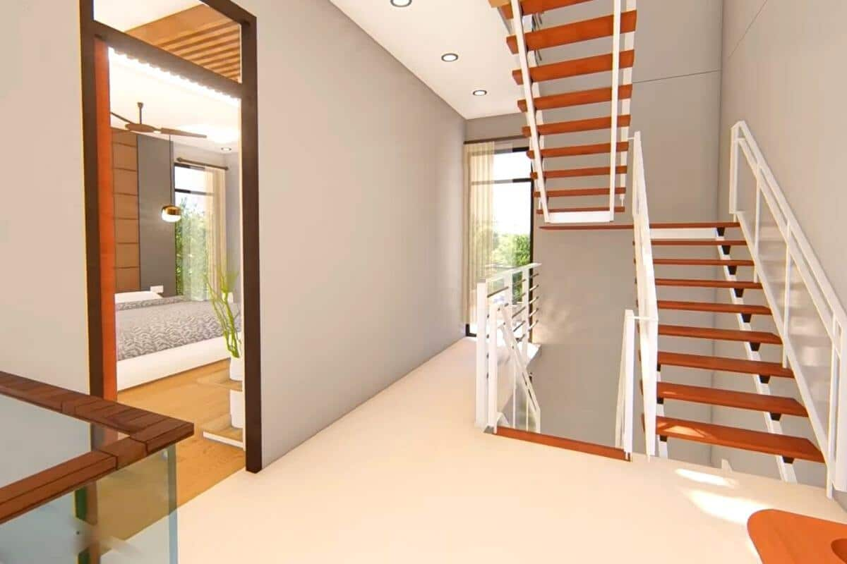 stairs design in hall